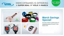 VOLK is offering a Super Deal in March