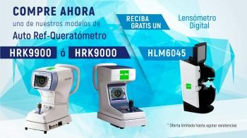 Compre un Auto Ref-Queratómetro y Reciba Gratis un Lensómetro Digital