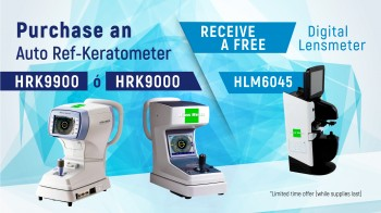 Purchase an Auto Ref-Keratometer and Receive a Free Digital Lensmeter