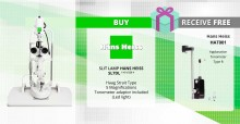 Buy SL7DL and Receive Free HAT001 Applanation Tonometer