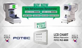 Buy Hans Heiss Auto Ref-keratometer receive free LCD Chart