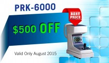 PRK6000 500 usd OFF in August