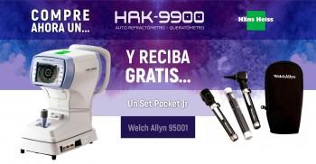 Compre un HR9900 y reciba gratis un set Pocket Jr Welch Allyn