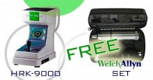 FREE WelchAllyn SET With a HANSHEISS HRK-9000