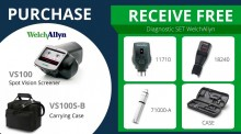 Purchase Spot Screener VS100 and Receive Free Diagnostic Set