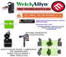 Welch Allyn Free training-AAO booth # 3604- Bascom Plamer booth  #26 B