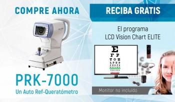 Reciba gratis el Programa ELITE Vision Chart por la compra de un Auto Ref/Queratómetro