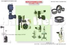 SLIT LAMPS ACCESSORIES-HISTORY AND EVOLUTION- FROM HANS HEISS