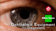 Ophthalmic equipment for diagnostic