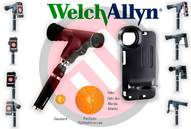 iExaminer 11840 Welch Allyn/PanOptic Iphone system